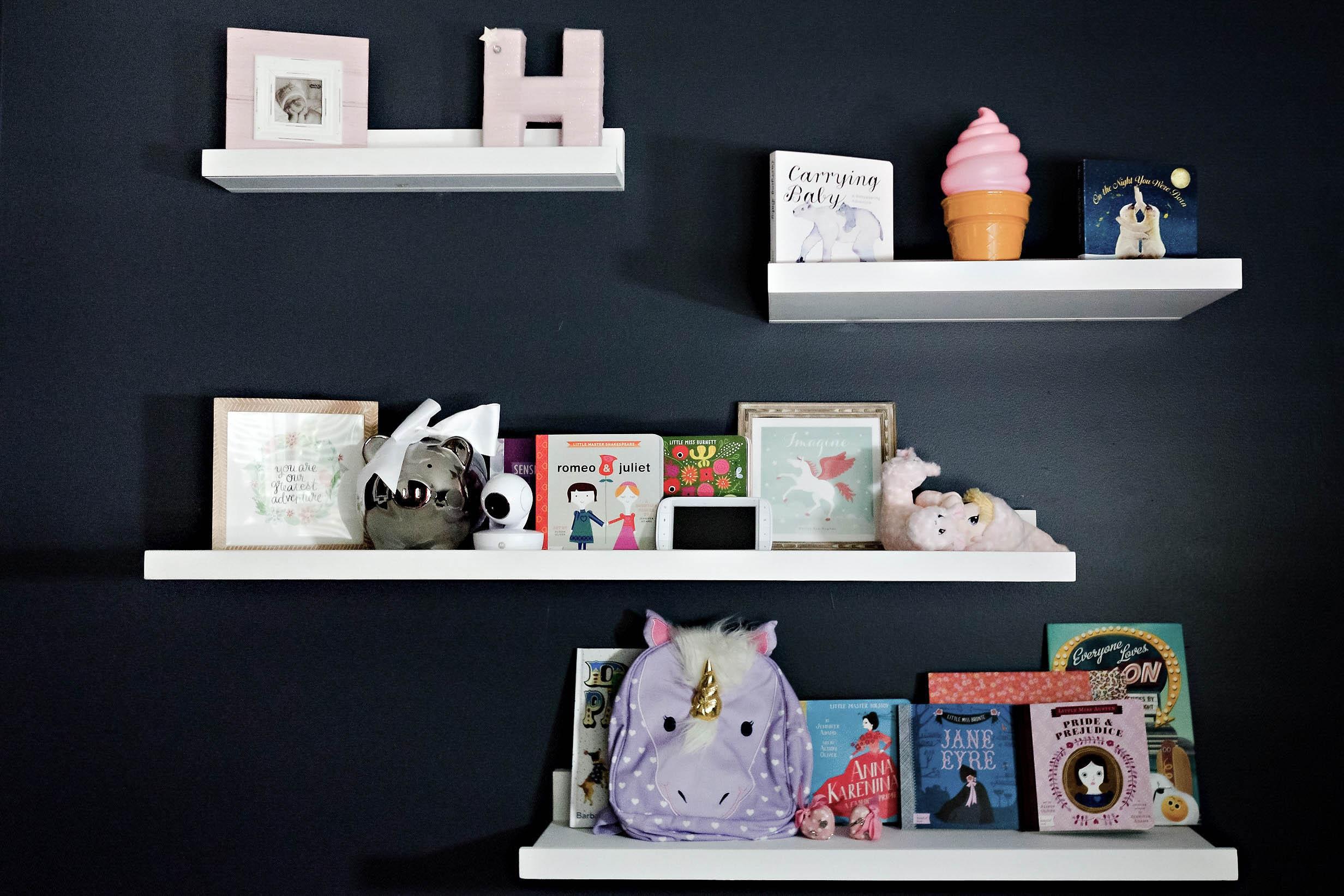 Girls Toddler Room Makeover by Atlanta mom blogger Happily Hughes