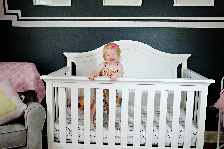 unicornthemedbabyroom - Girls Toddler Room Makeover by Atlanta mom blogger Happily Hughes