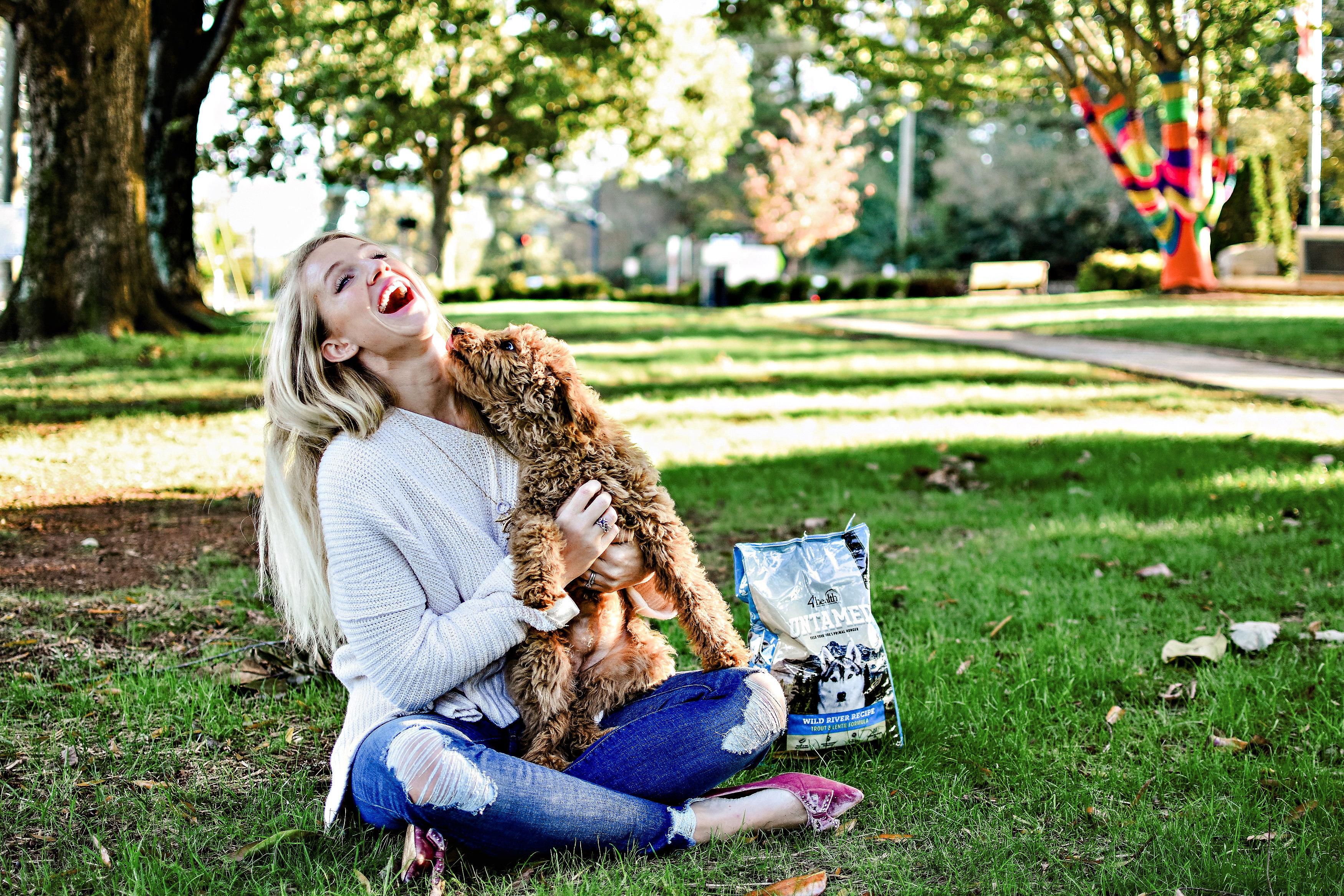 Untamed Dog Food review by popular Atlanta blogger Happily Hughes