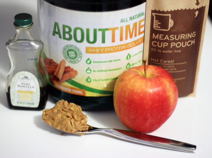 Cinnamon Apple Oatmeal RecipeIngredients