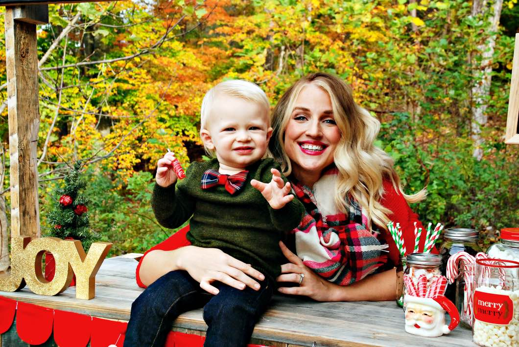 About Atlanta Blogger Jessica from happily Hughes