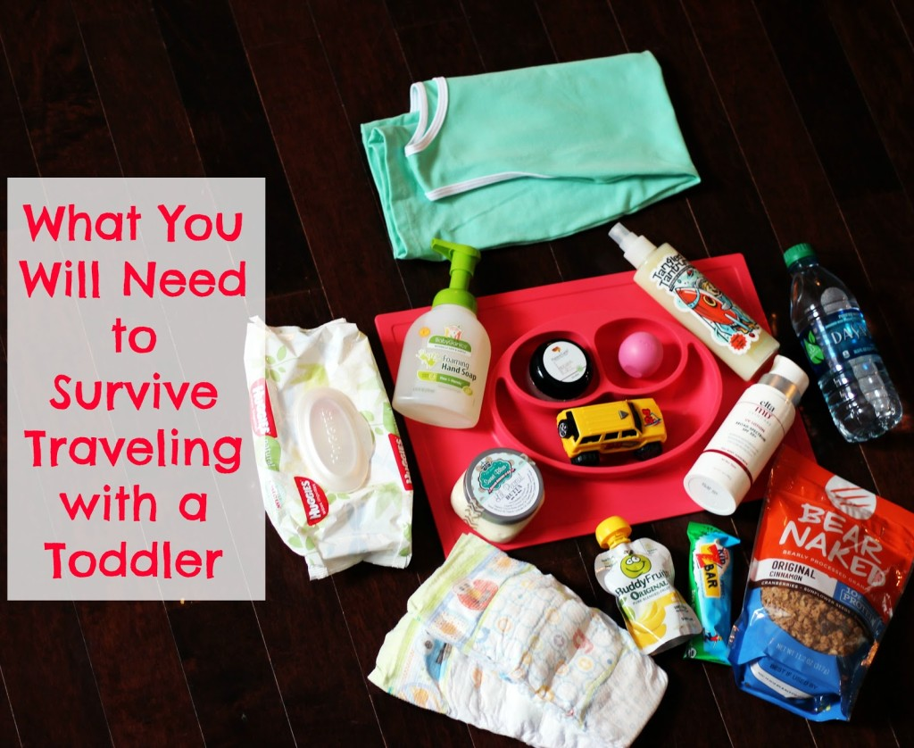 Checklist Traveling with Toddler
