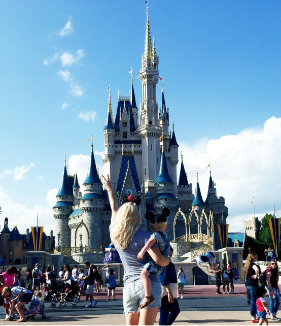 Pictures to take at Disney - Disney World With Toddlers by Atlanta travel blogger Happily Hughes