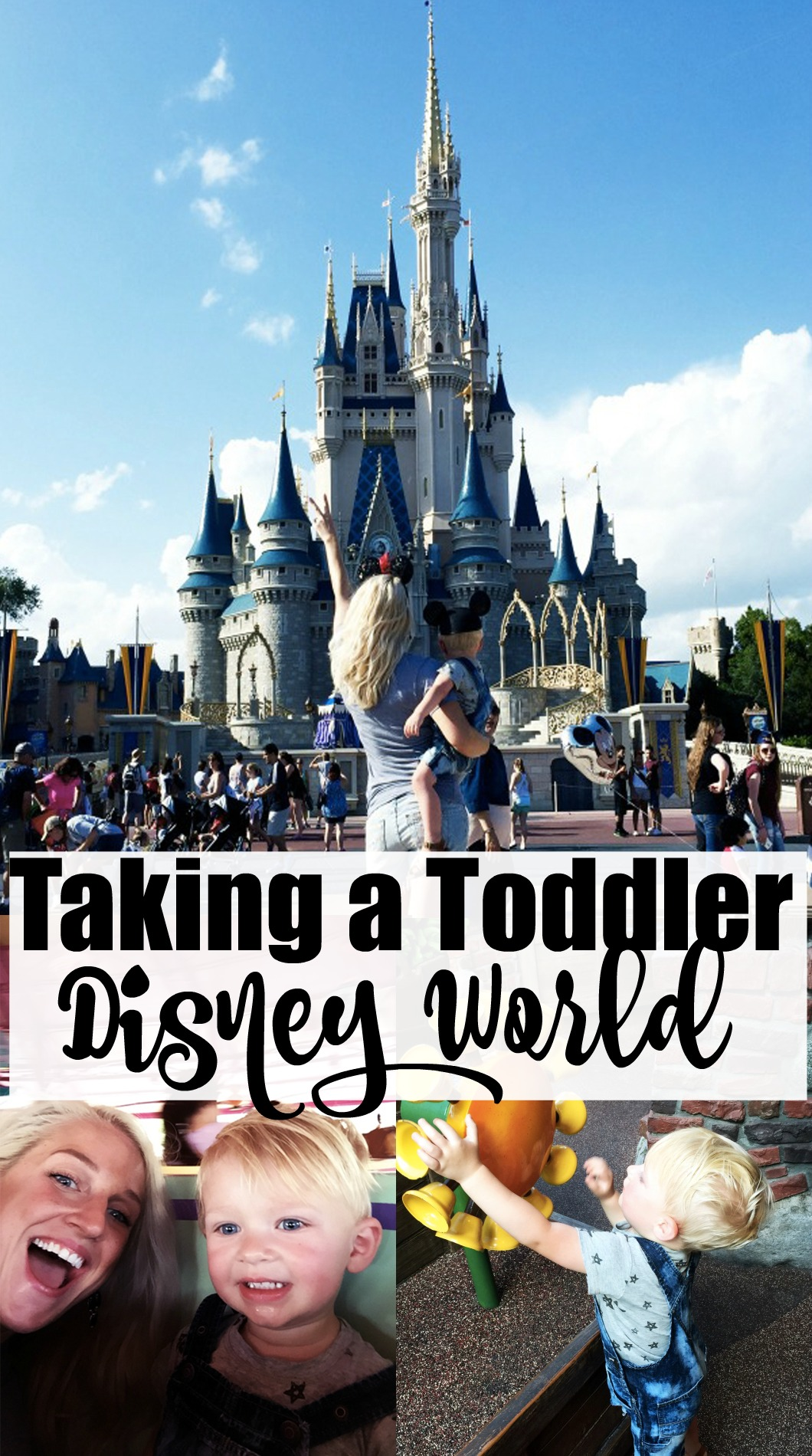 Taking Toddler to Disney World - Disney World With Toddlers by Atlanta travel blogger Happily Hughes