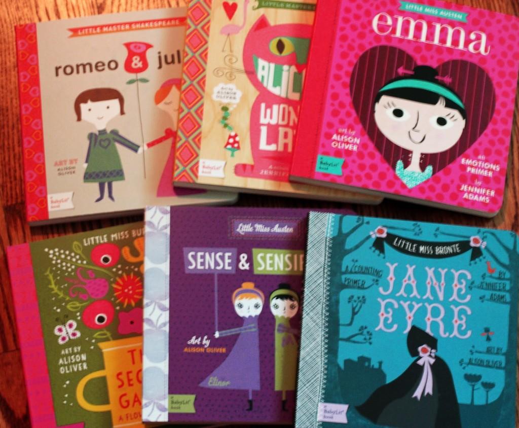 Baby Lit Books for Girls