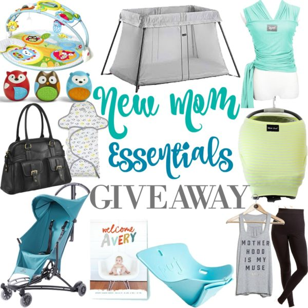 New Mom Essentials Giveaway
