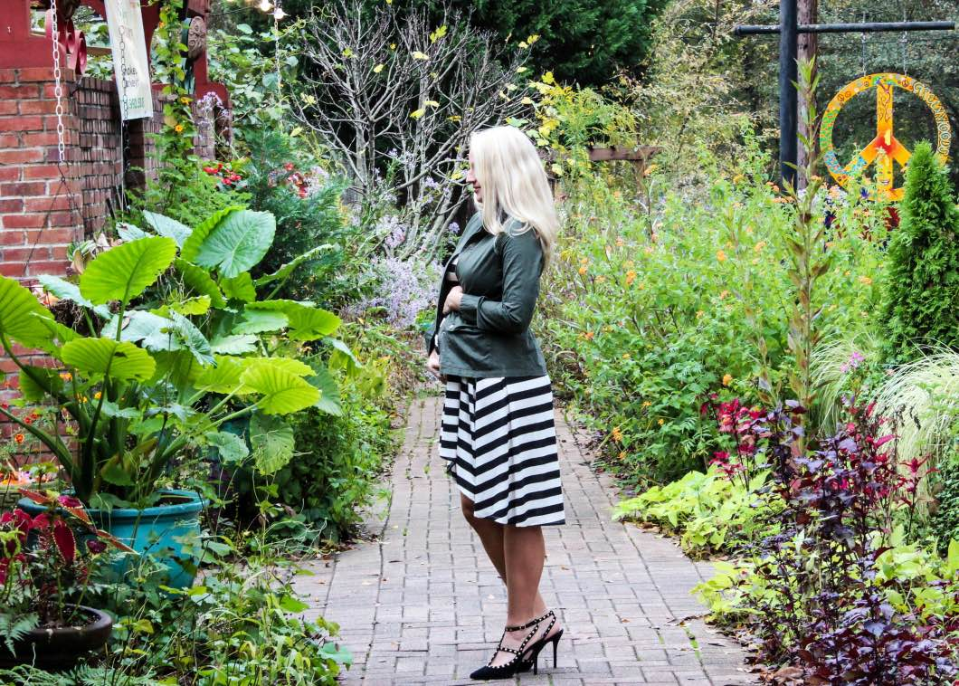 Fall Maternity Style with Gray Monroe