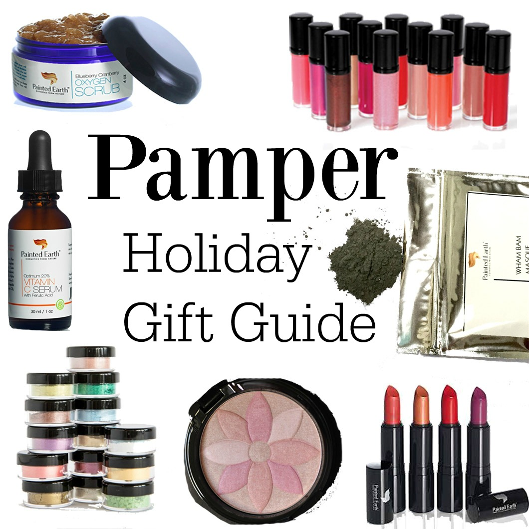Pamper Holiday Gift Guide with Painted Earth 0 Pamper Holiday Gift Guide with Coupon Codes by Atlanta style blogger Happily Hughes