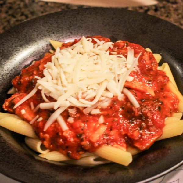 Healthy Gluten-Free Crock Pot Pasta