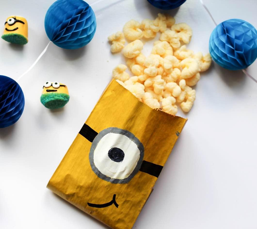 Minion Movie Night Crafts and DIY