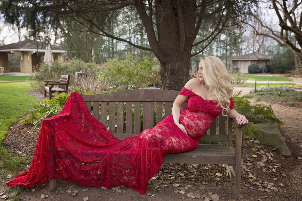 Maternity Photo with Sew Trendy Accessories and Amanda Nicole Photography