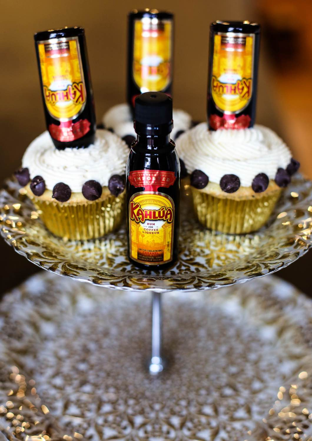 Boozy Cupcakes Mudslide Cupcake