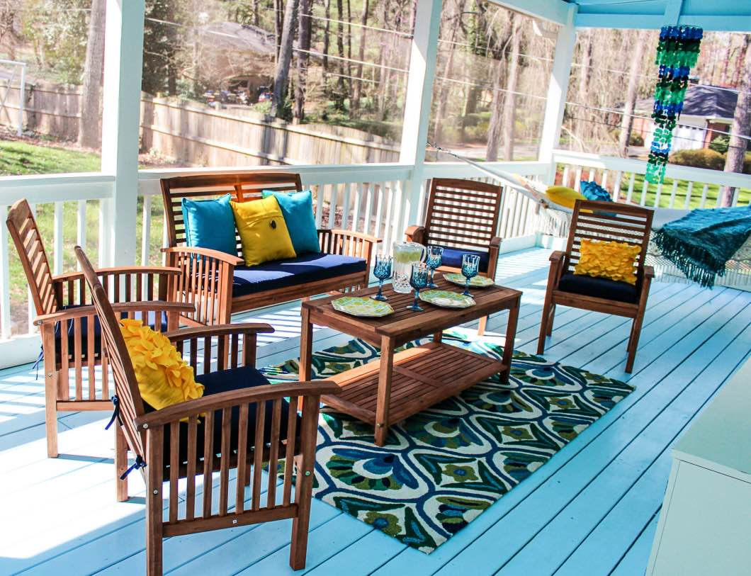 Back Porch Decorating Ideas with Pier 1 . & decorating back porch | My Web Value