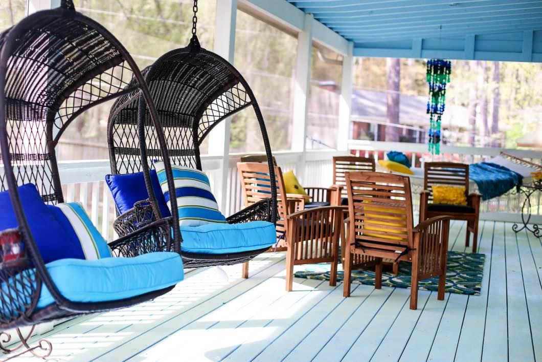Back Porch Decorating Ideas | Pier 1 | Happily Hughes