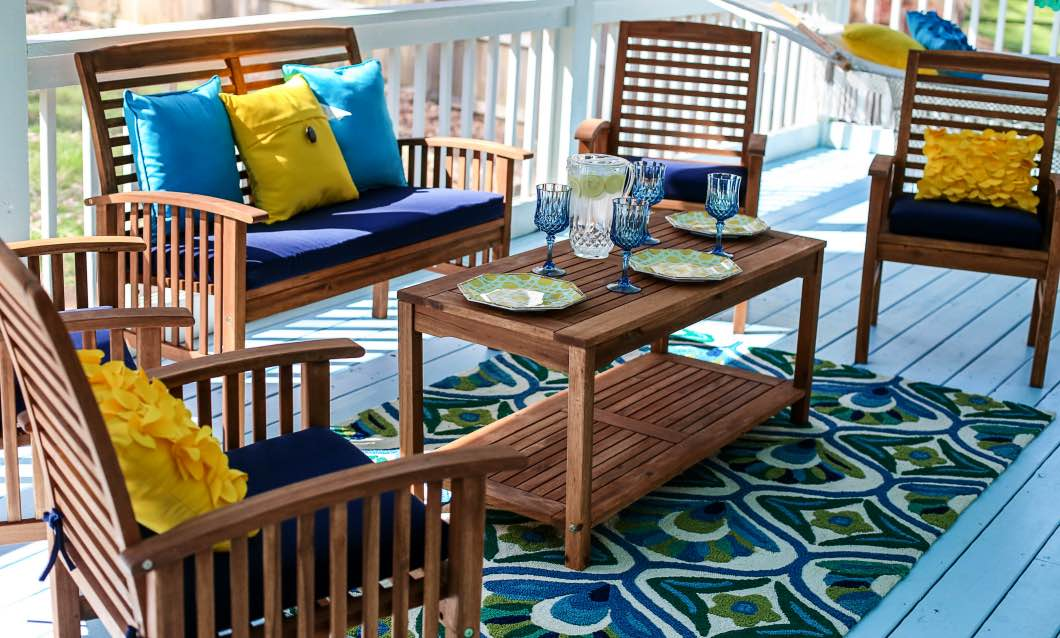 back porch decorating ideas pier 1 happily hughes