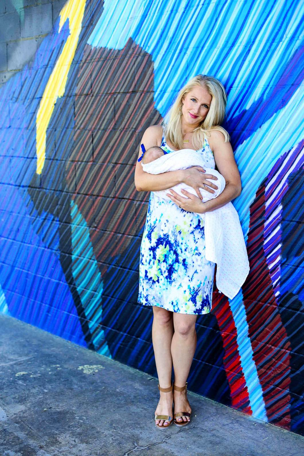 Figure 8 Maternity Nursing Wear by Atlanta blogger Jessica of Happily Hughes