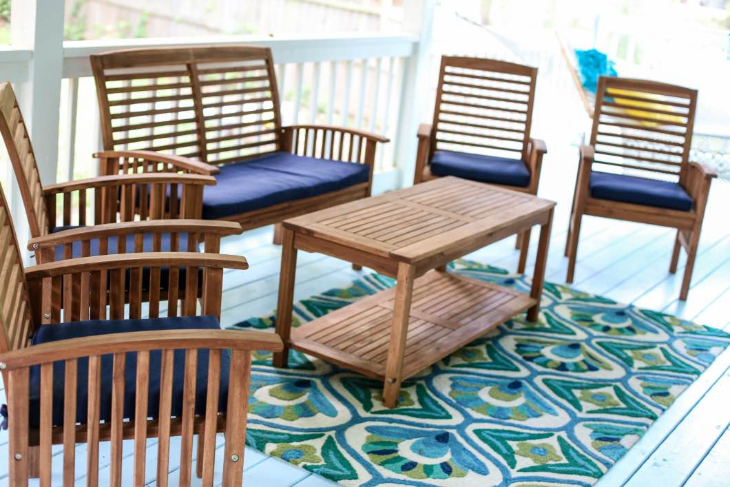 Walker Edison Patio Furniture Review And Giveaway