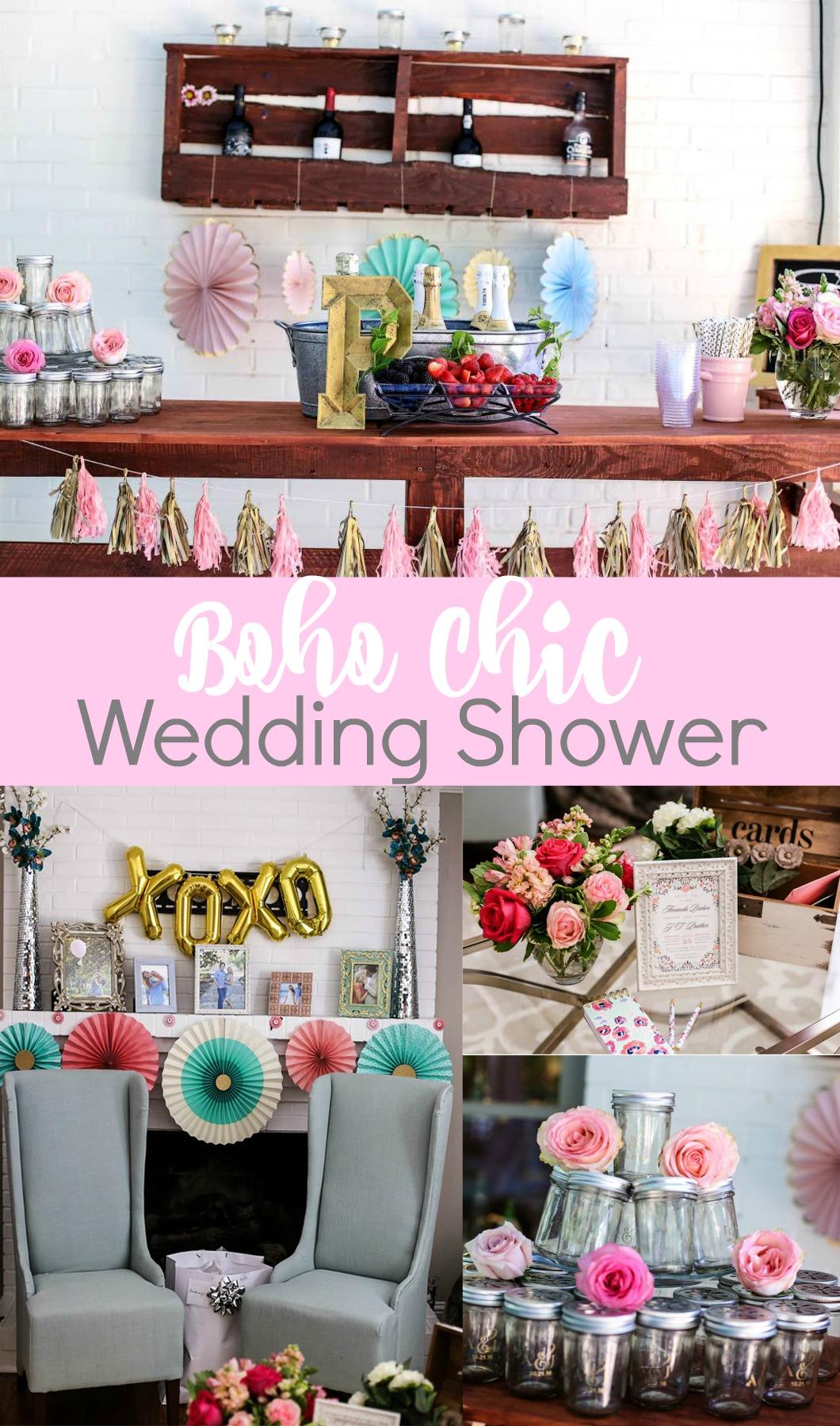 Boho Chic Wedding Shower