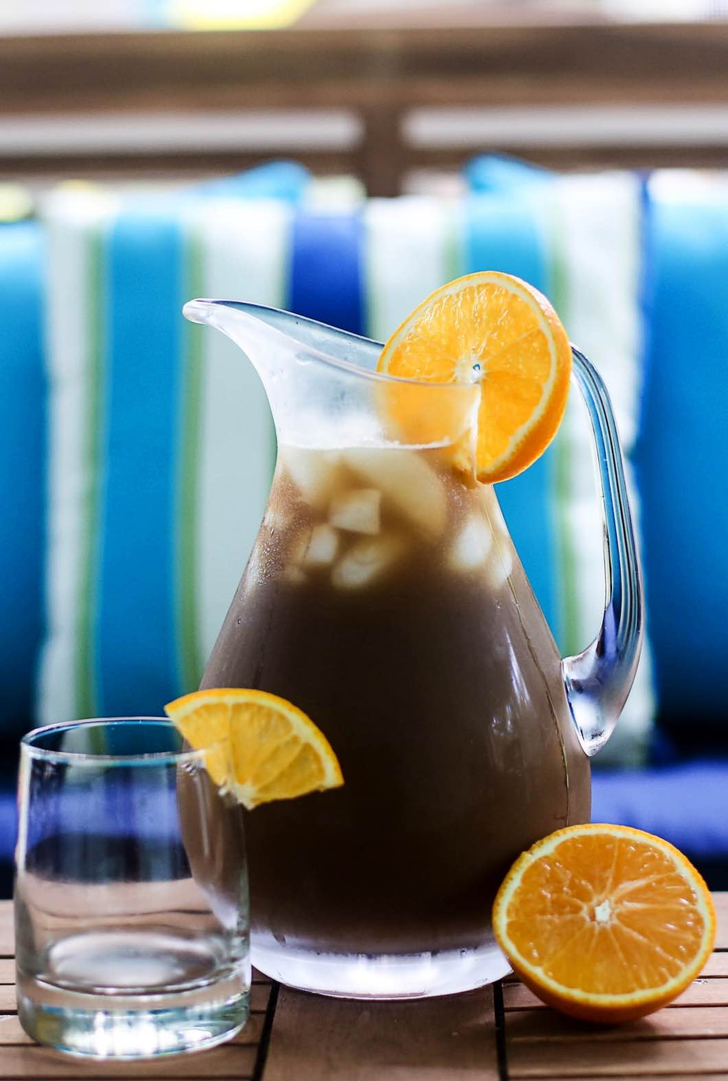 Iced Orange Vanilla Chai Tea