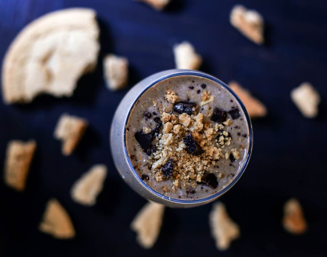 Cookie Crumble Protein Smoothie