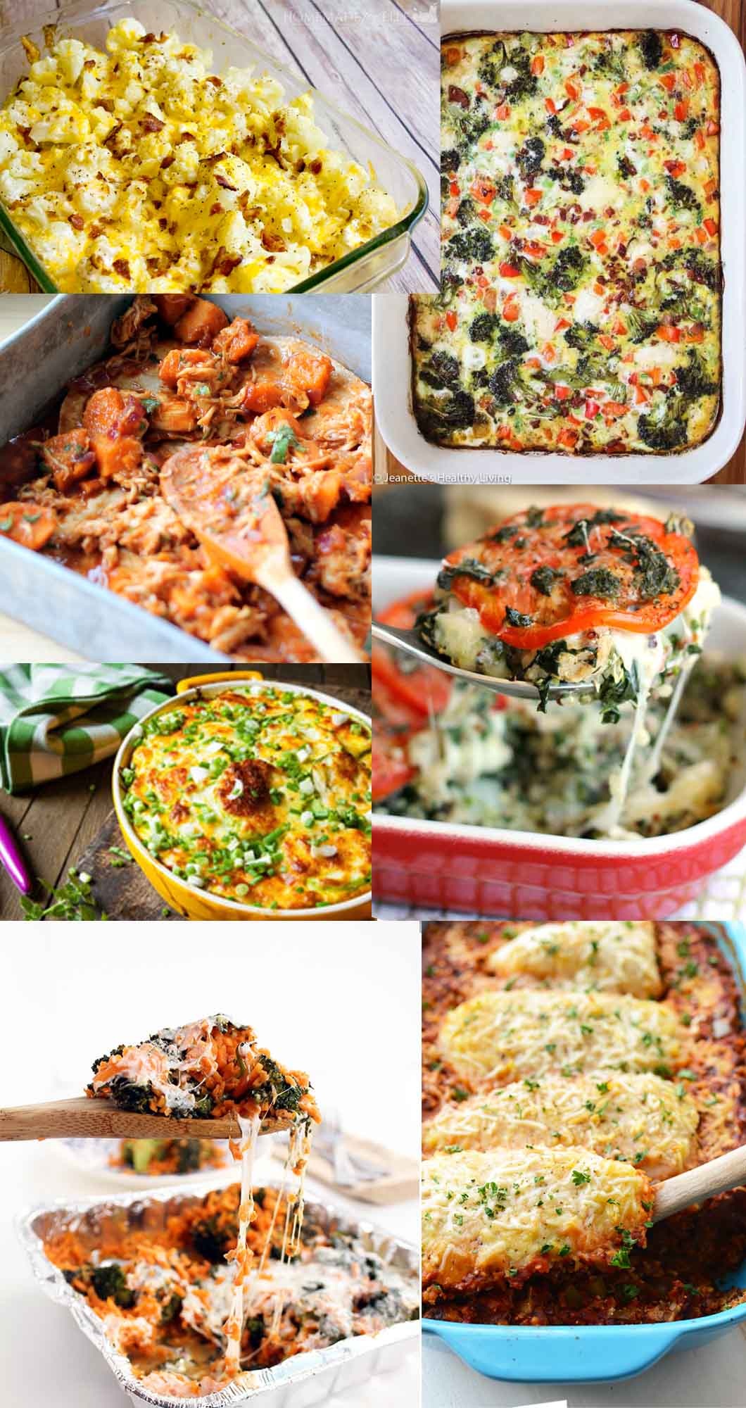 20 Healthy Family Friendly Casseroles