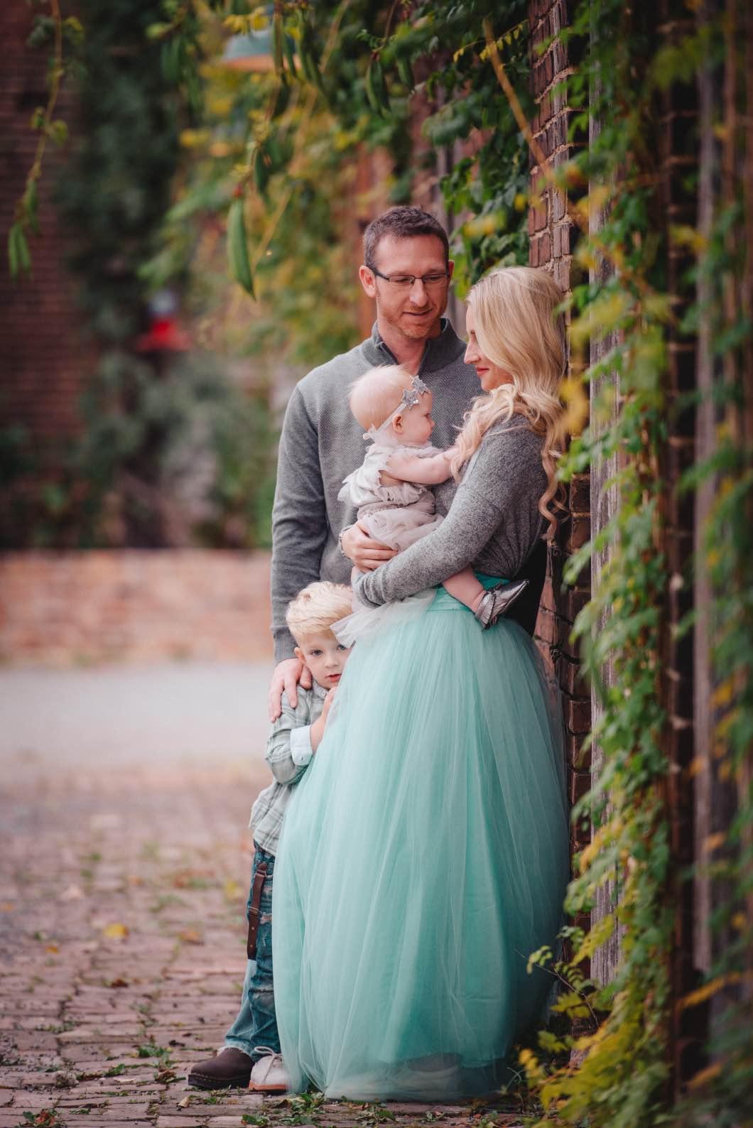 Fall Family Photos- Mint Color Scheme- With Amanda Nicole ...