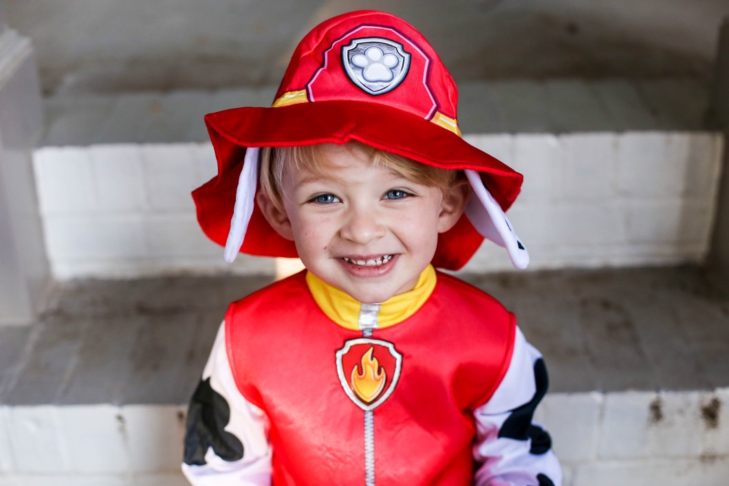 Party City Paw Patrol Costume for Toddlers