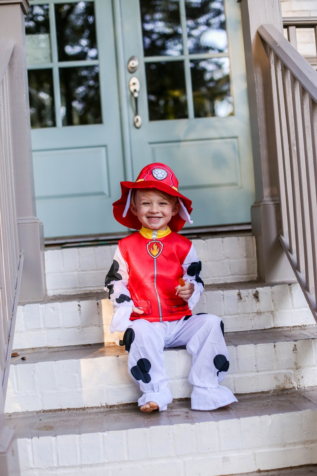 Party City Paw Patrol Fireman Toddler