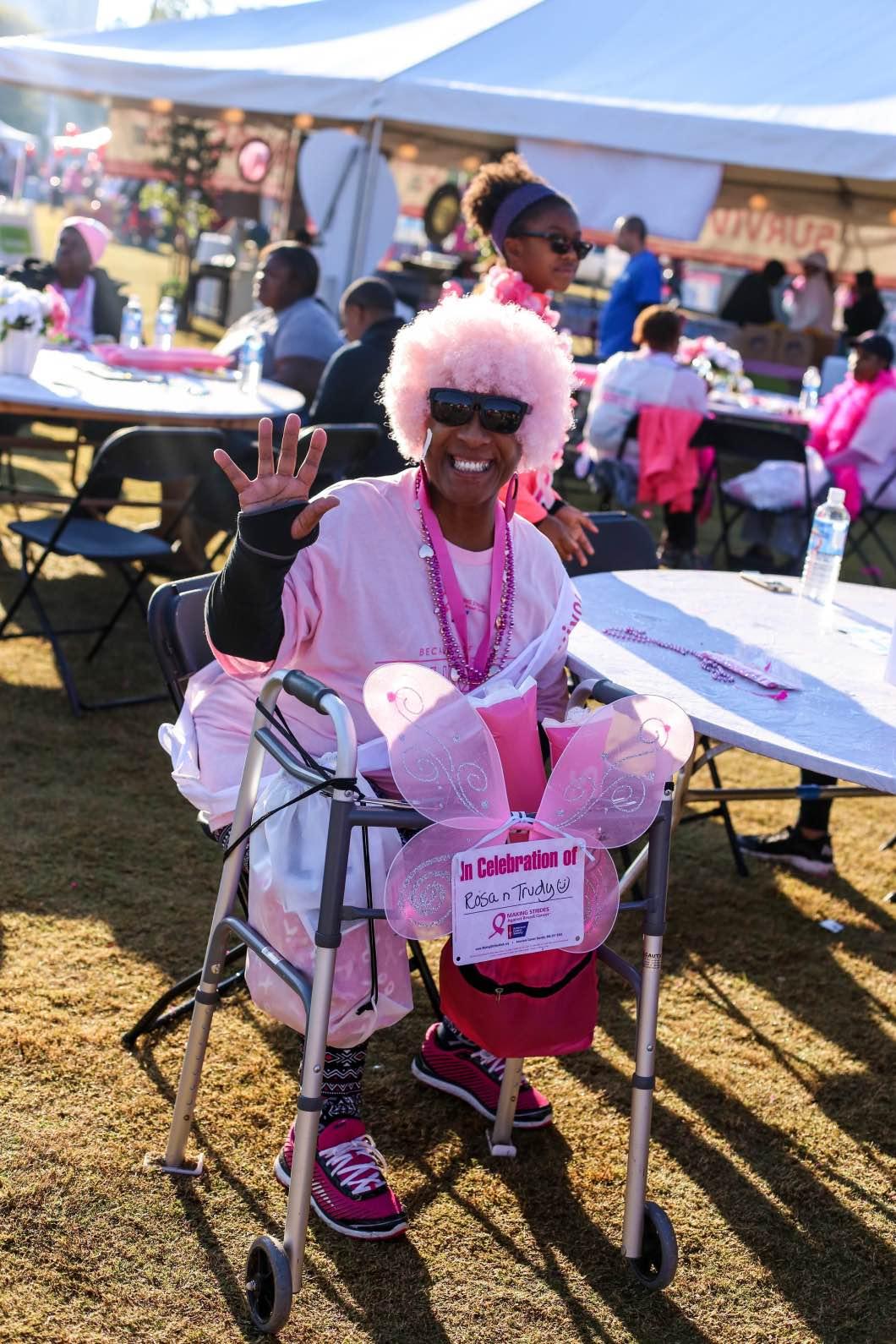 Making Strides Breast Cancer Survivor