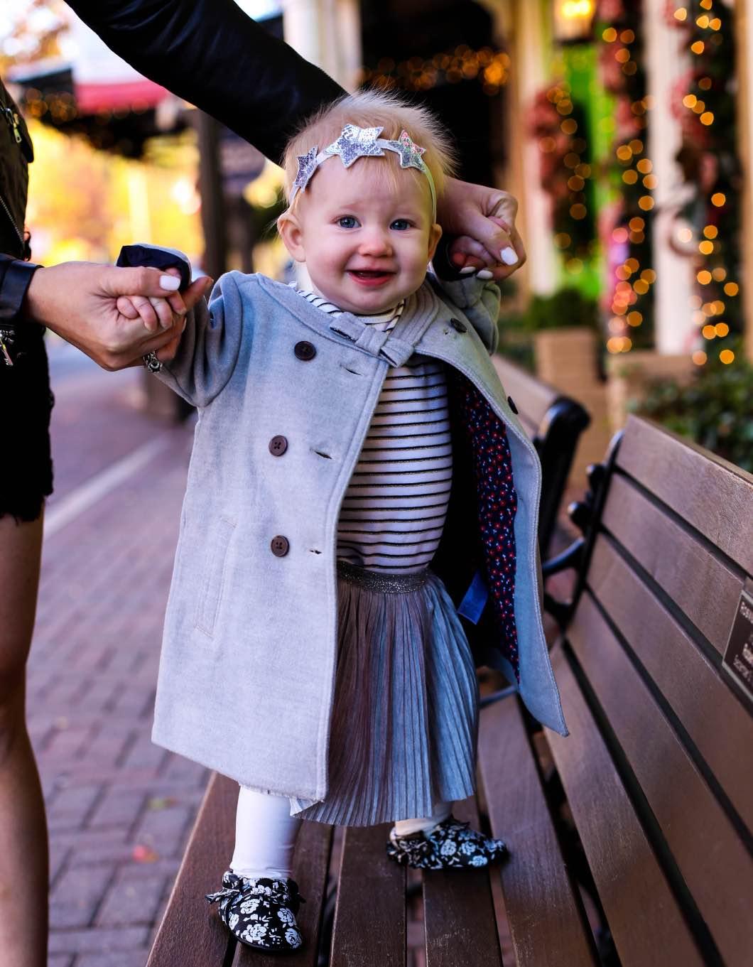 Baby Christmas Fashion OshKosh B'gosh - Baby and Toddler Holiday Outfits with OshKosh B'gosh by Atlanta style blogger Happily Hughes