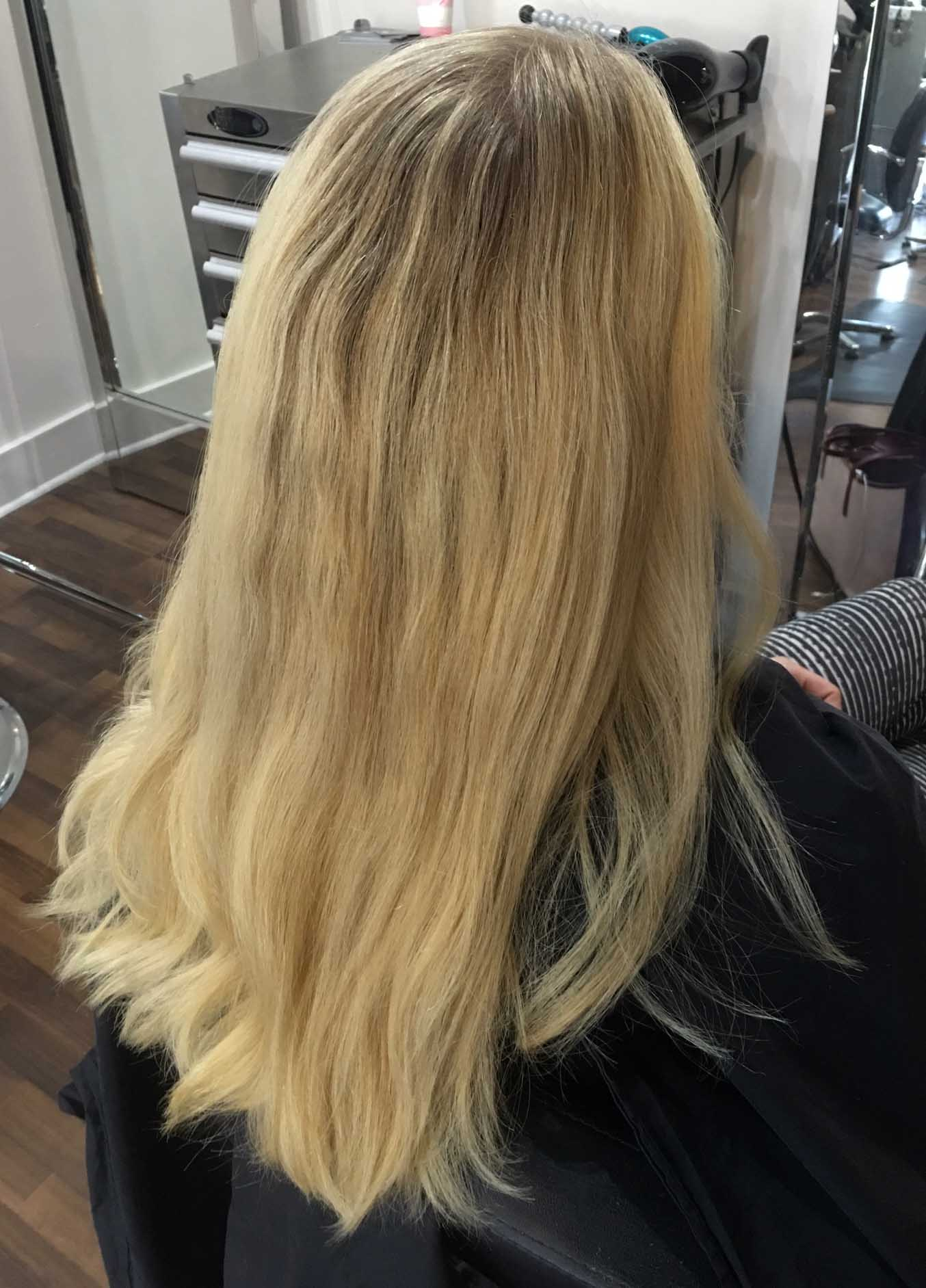 Blonde Hair Repair And Makeover With Extensions Mommy Makeover Pt3