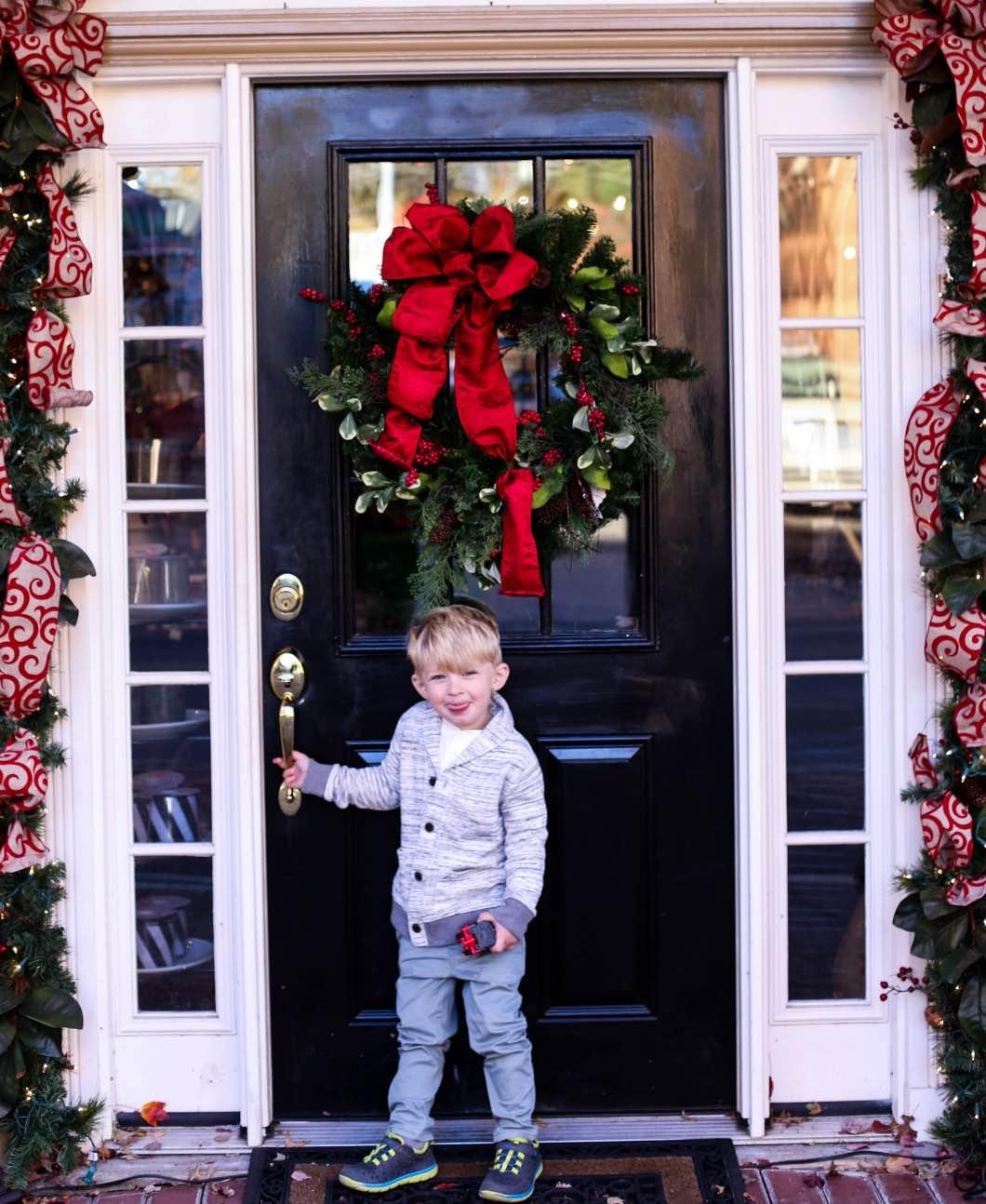 OshKosh Christmas Fashion - Baby and Toddler Holiday Outfits with OshKosh B'gosh by Atlanta style blogger Happily Hughes