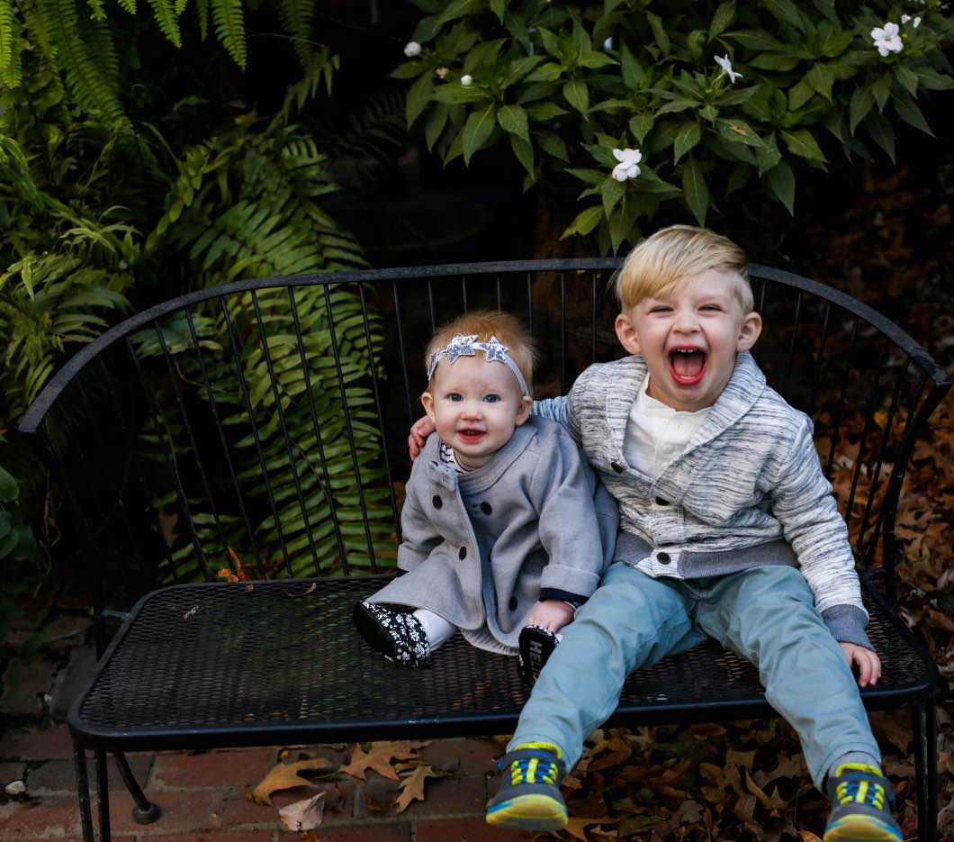 Toddler and Baby Christmas Fashion - Baby and Toddler Holiday Outfits with OshKosh B'gosh by Atlanta style blogger Happily Hughes