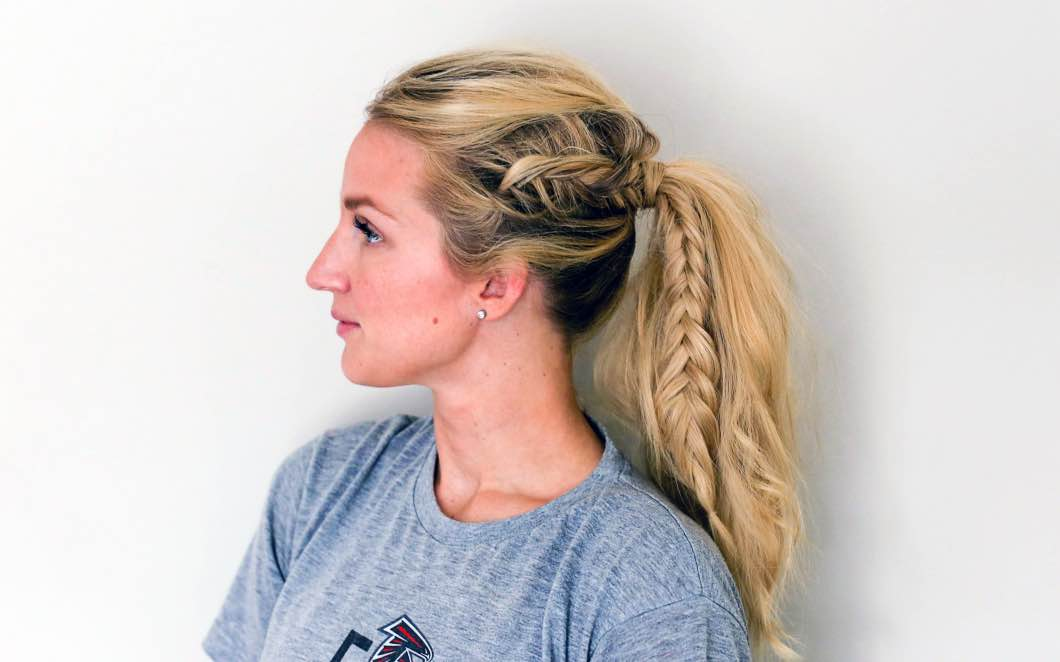Gorgeous Night Out Fishtail braid