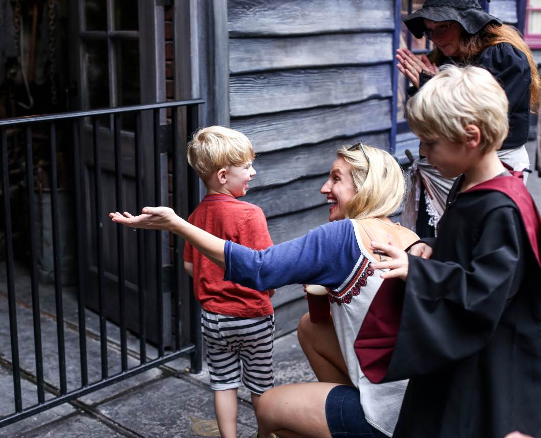 Harry Potter Universal Studios - Holiday Attractions in Orlando by Atlanta travel blogger Happily Hughes