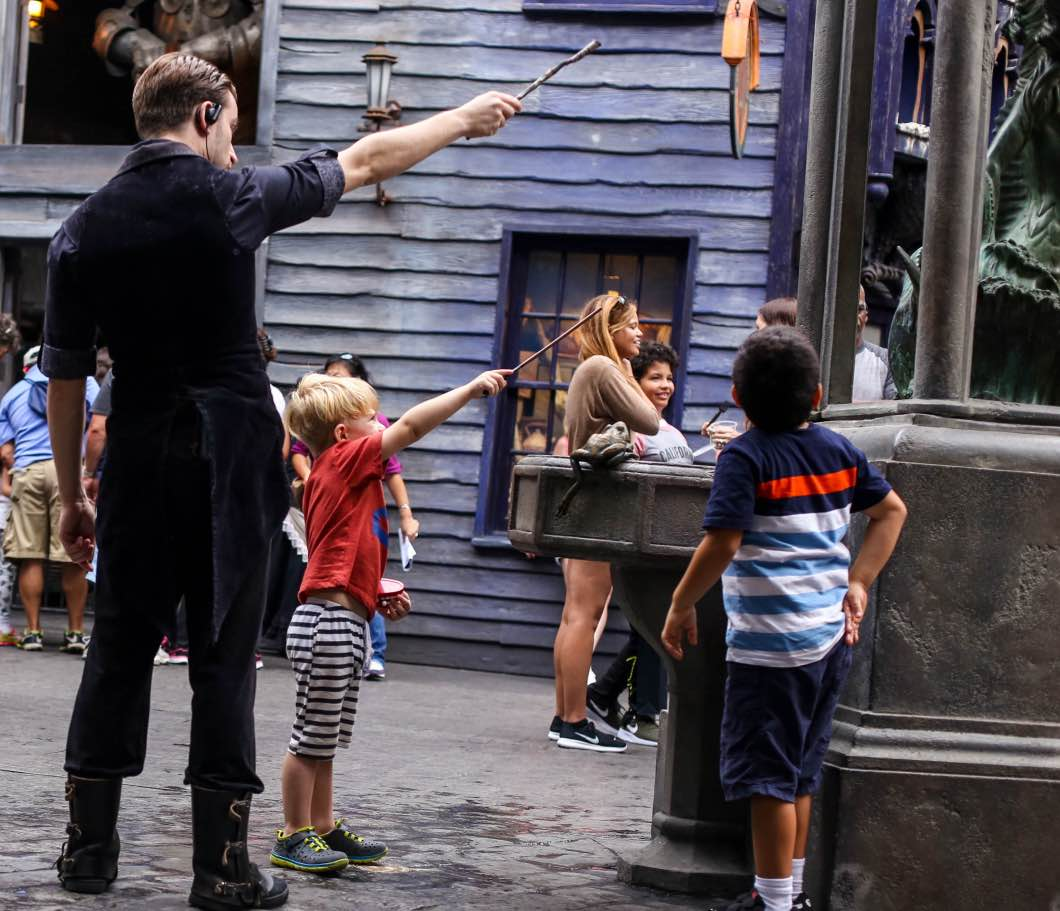 Harry Potter World Orlando - Holiday Attractions in Orlando by Atlanta travel blogger Happily Hughes
