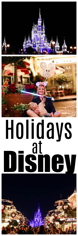 holidays at disney - Holiday Attractions in Orlando by Atlanta travel blogger Happily Hughes
