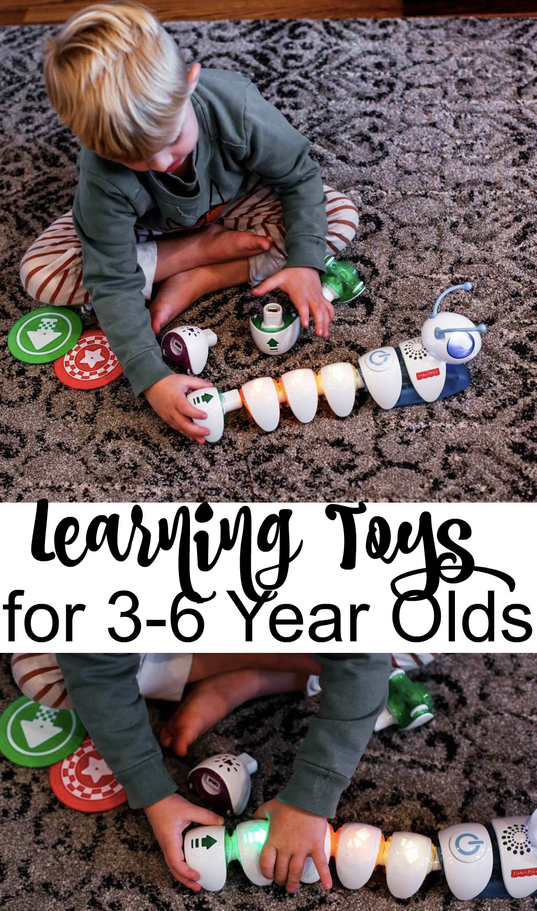 Learning Toys for 3-6 year olds