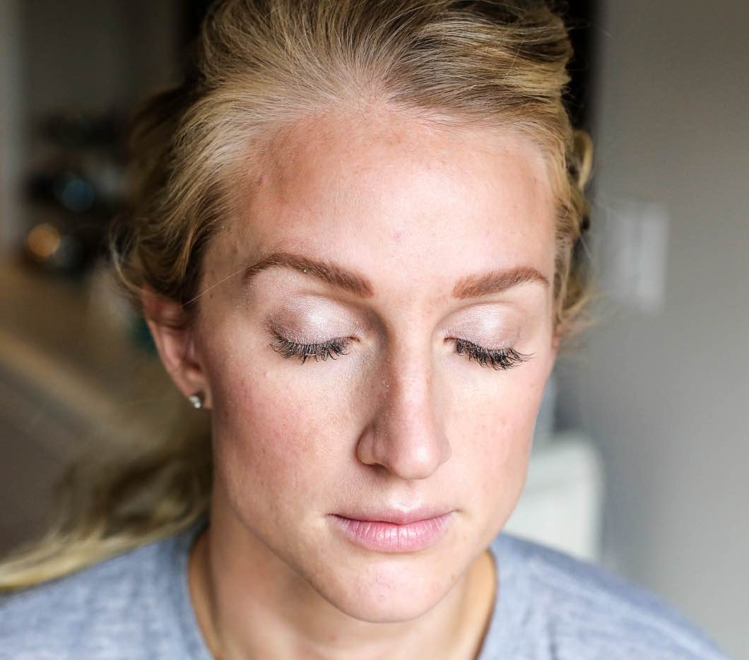 New Years Eve Makeup Look with Luminess Air by beauty blogger Jessica of Happily Hughes