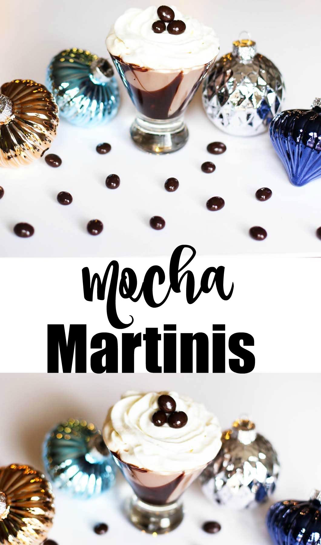 Mocha Martinis