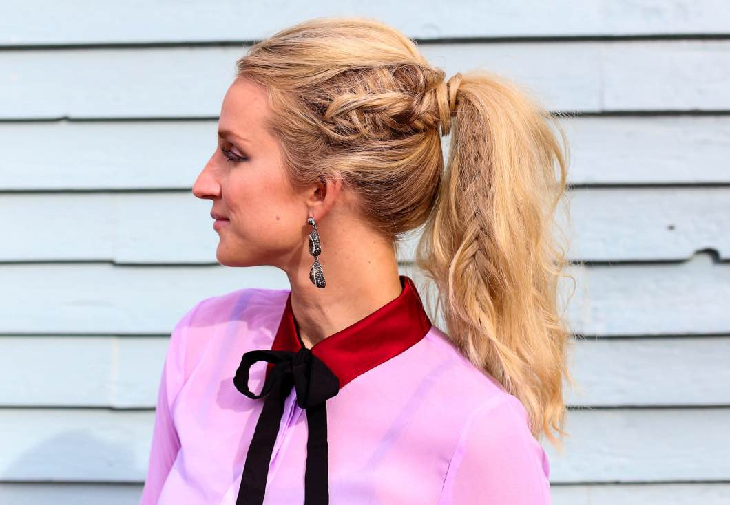 Night Out Fishtail Braid