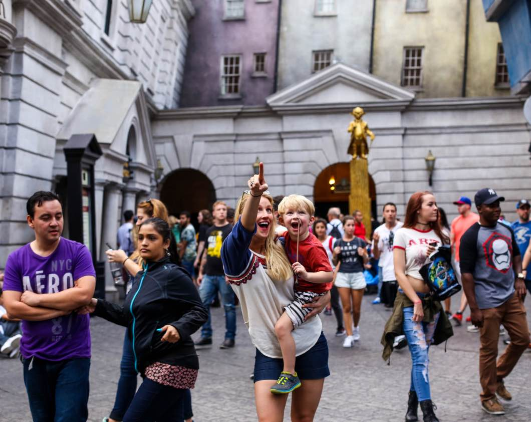 Orlando Harry Potter World - Holiday Attractions in Orlando by Atlanta travel blogger Happily Hughes