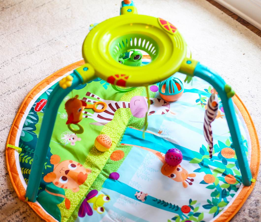 Play Gym that Grows with Baby