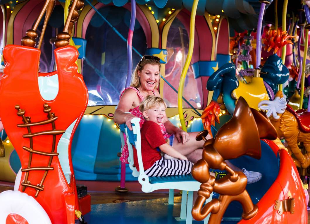 Universal Studio Dr Seuss - Holiday Attractions in Orlando by Atlanta travel blogger Happily Hughes