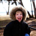 Child Having Fun Outdoors