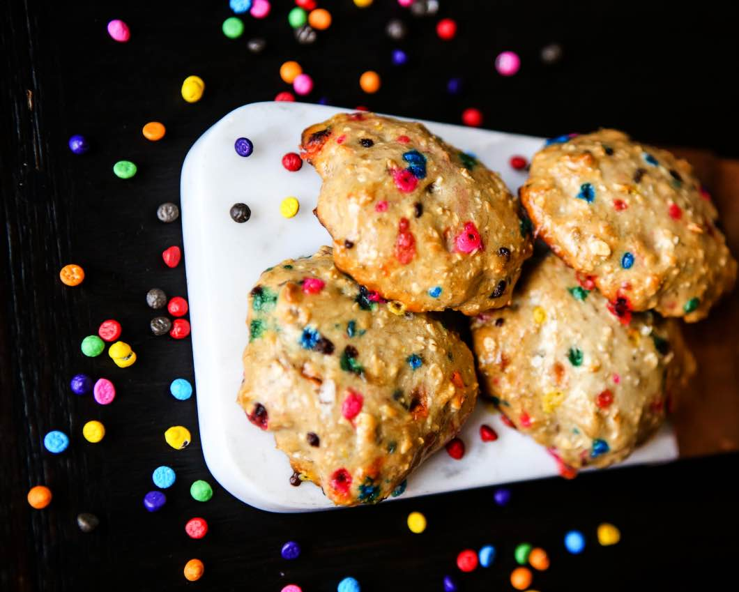 Birthday Cake Protein Cookies With Premier