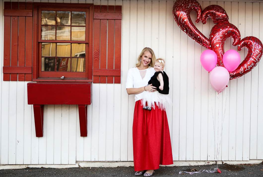 Valentine's Day Outfits Mom and Baby