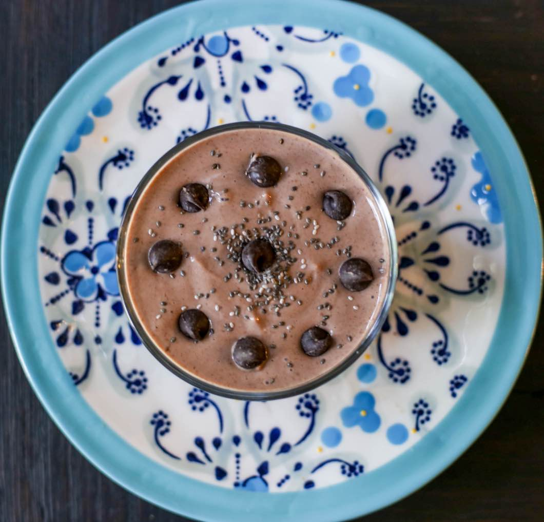 Post-Workout Treat: Protein Mousse with fairlife by fitness blogger Jessica of Happily Hughes