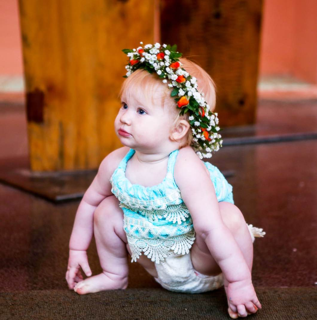 baby and haku crown and the haltered thread