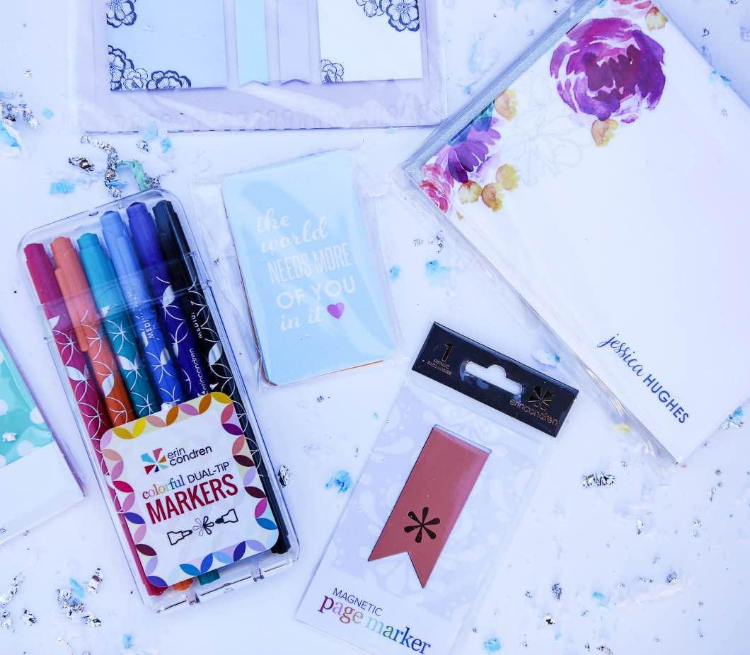Fantastic Erin Condren Giveaway by lifestyle blogger Jessica from Happily Hughes